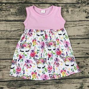 Girls Unicorn boutique Dress brand new!